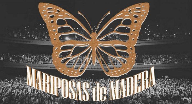 Mariposas De Madera